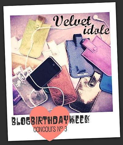 concours blog velvet idole iphone housse sleeve