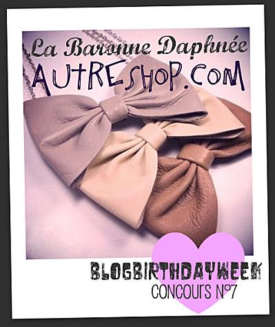 pauline fashionblog blogbirthday concours autreshop